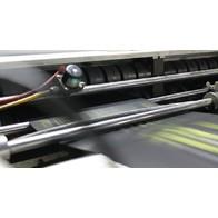 производство пакетов - сварочная машина в работе
